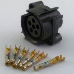 BA5590 Short Female Connector with Pins
