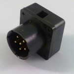BA5590 Connector with Backshell